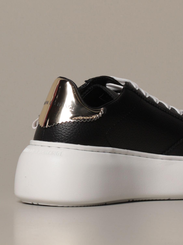 运动鞋 Armani Exchange: 鞋 女士 Armani Exchange 黑色 3