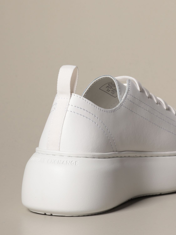 Baskets Armani Exchange: Chaussures femme Armani Exchange blanc 3