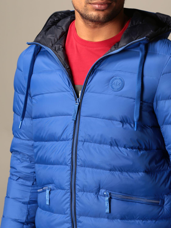 Jacket Armani Exchange: Jacket men Armani Exchange marine 3