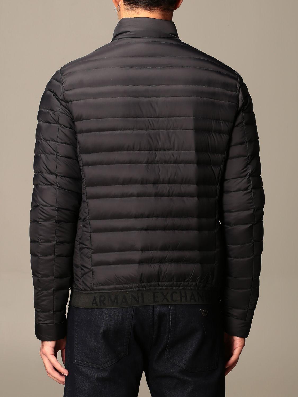 Куртка Armani Exchange: Куртка Мужское Armani Exchange черный 2