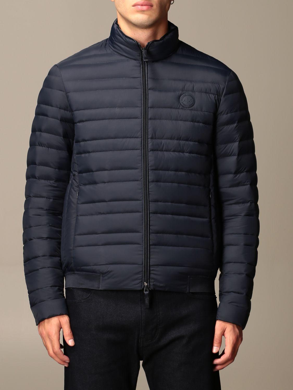 Jacket Armani Exchange: Armani Exchange light down jacket with zip navy 1
