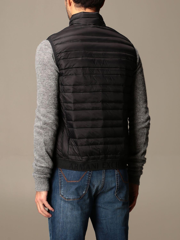 Waistcoat Armani Exchange: Jacket men Armani Exchange black 2