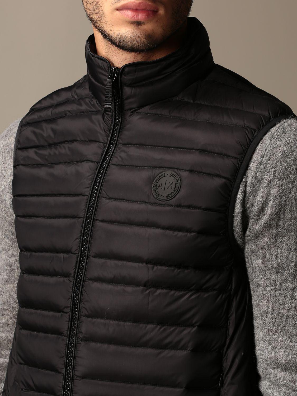 Waistcoat Armani Exchange: Jacket men Armani Exchange black 3