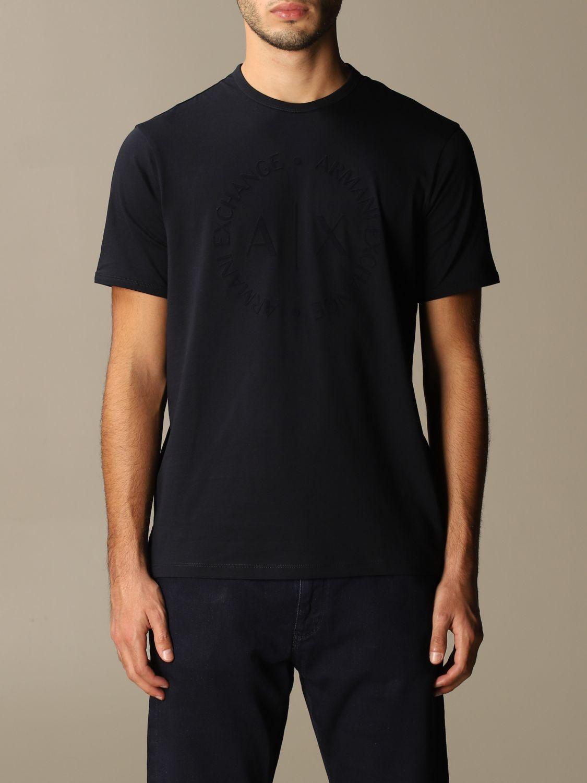 T-shirt Armani Exchange: Armani Exchange cotton t-shirt with logo blue 1