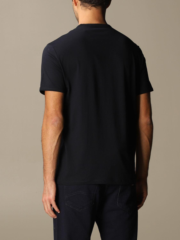 T-shirt Armani Exchange: Armani Exchange cotton t-shirt with logo blue 2