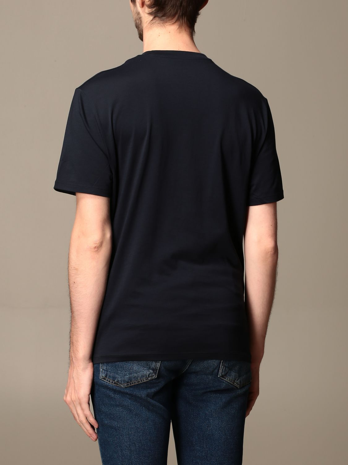 T-shirt Armani Exchange: T-shirt men Armani Exchange blue 2