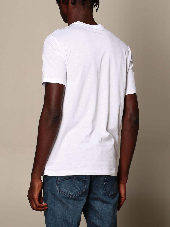 T-Shirt Armani Exchange: T-shirt herren Armani Exchange weiß 3