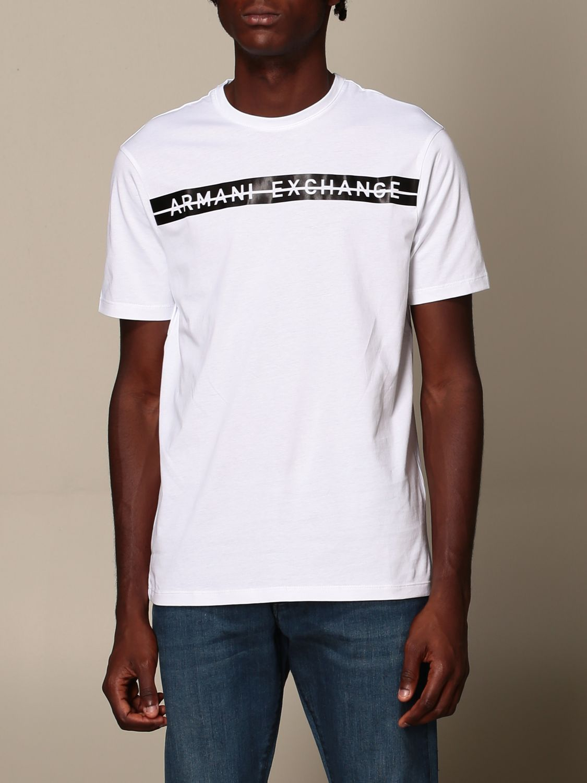 T-Shirt Armani Exchange: T-shirt herren Armani Exchange weiß 4