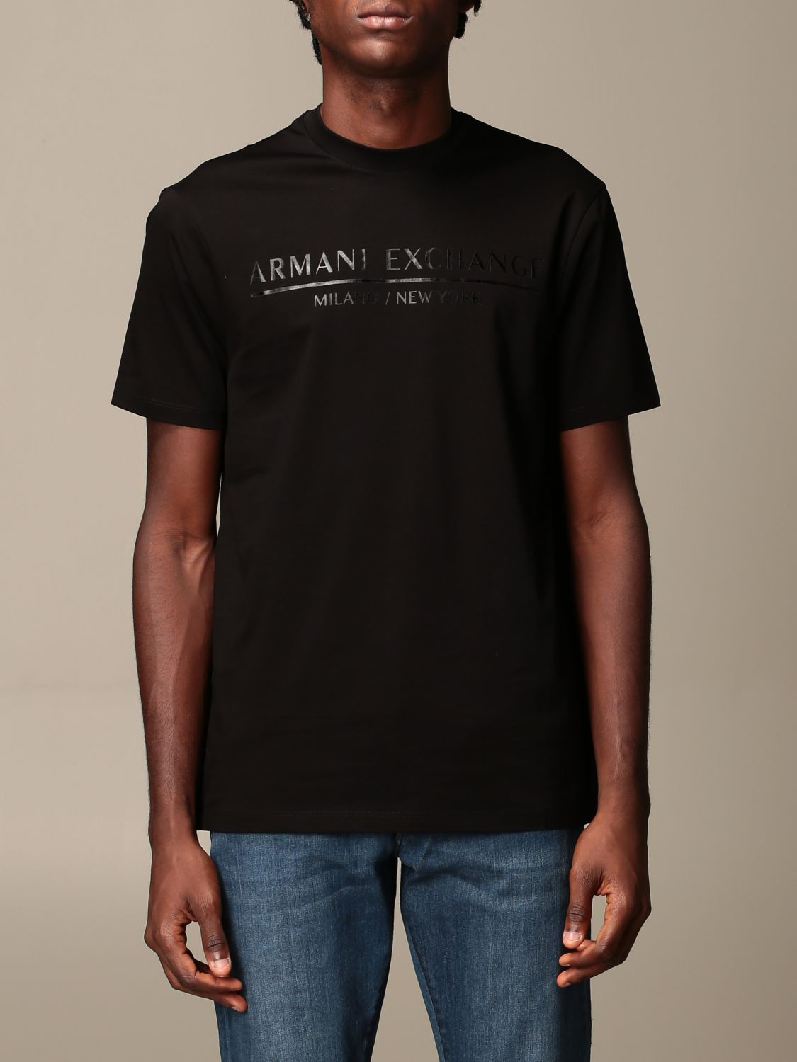 T-Shirt Armani Exchange: T-shirt herren Armani Exchange schwarz 1
