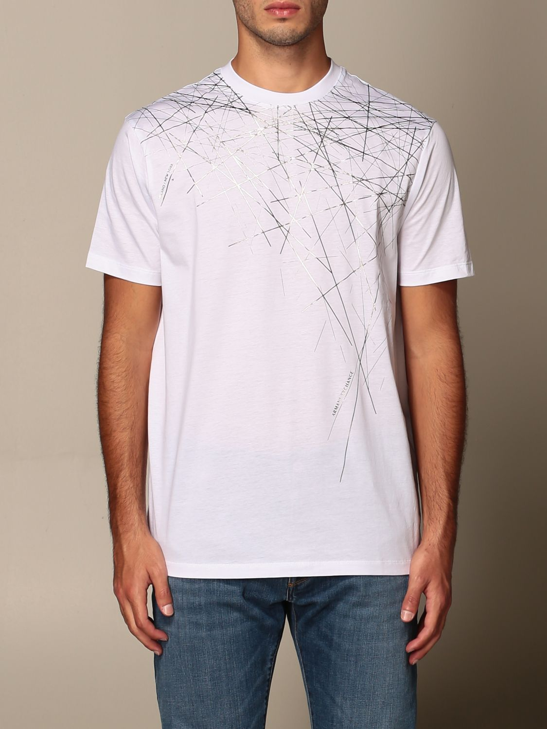 T-shirt Armani Exchange: T-shirt men Armani Exchange white 1