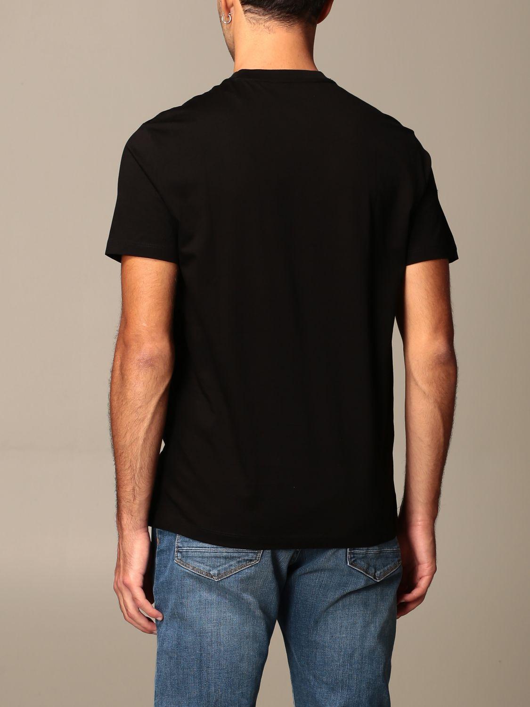 T-shirt Armani Exchange: Armani Exchange cotton T-shirt with geometric print black 2