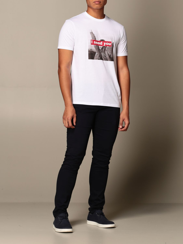 T-Shirt Armani Exchange: T-shirt herren Armani Exchange weiß 2