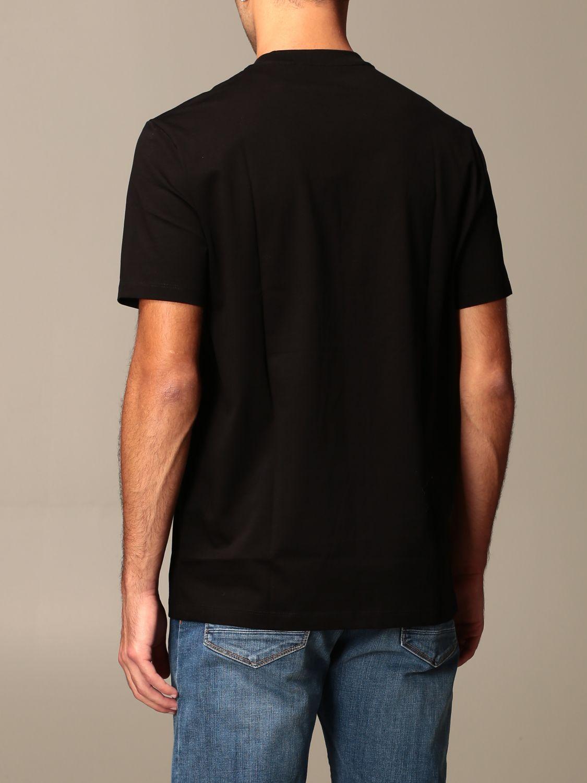 T-shirt Armani Exchange: Armani Exchange cotton t-shirt with logo black 2
