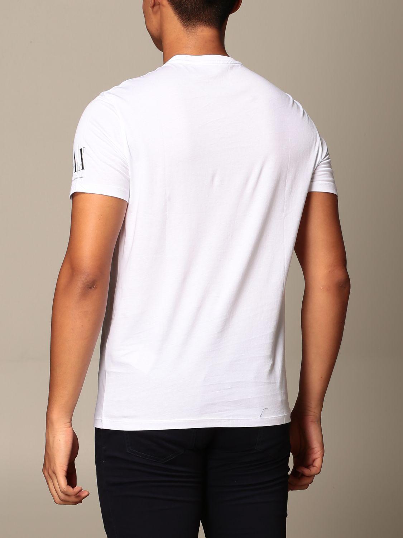 T-shirt Armani Exchange: T-shirt Armani Exchange con stampa i love you bianco 3