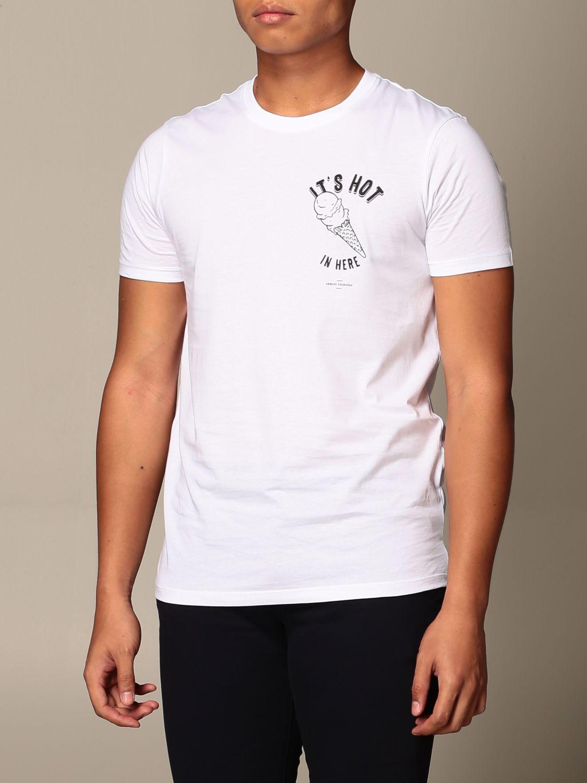T-shirt Armani Exchange: T-shirt homme Armani Exchange blanc 4