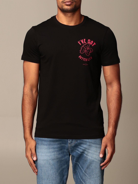 T-Shirt Armani Exchange: T-shirt herren Armani Exchange schwarz 1