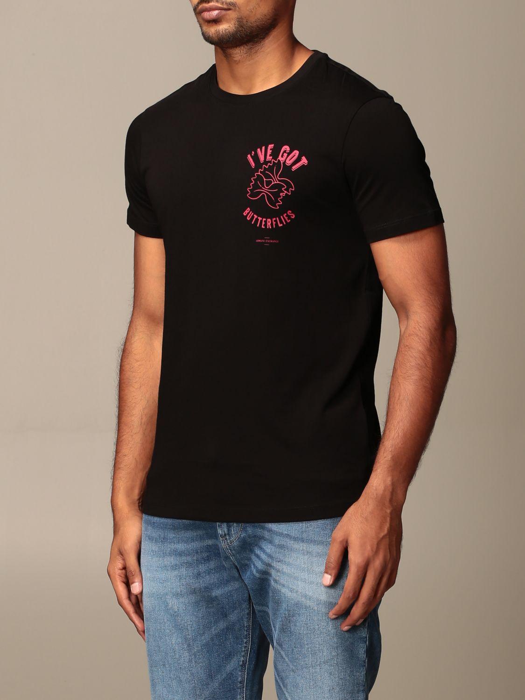 T-Shirt Armani Exchange: T-shirt herren Armani Exchange schwarz 3