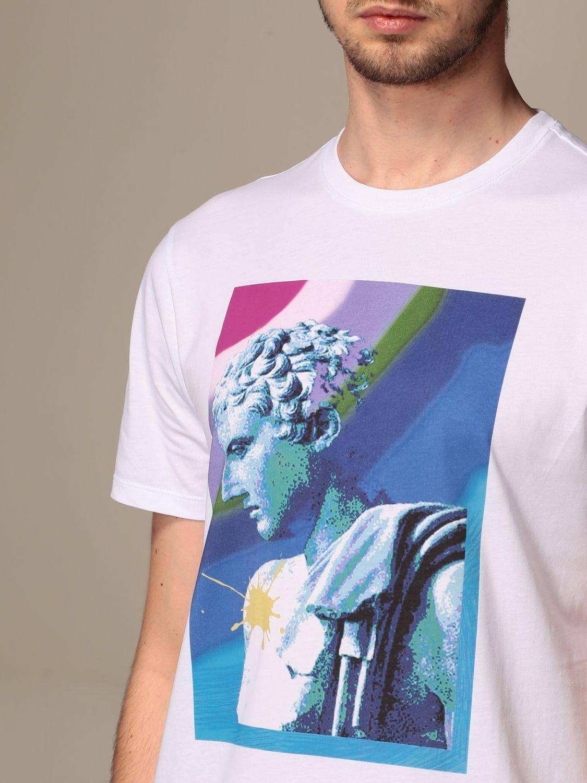 T-shirt Armani Exchange: T-shirt Armani Exchange in cotone con stampa bianco 3