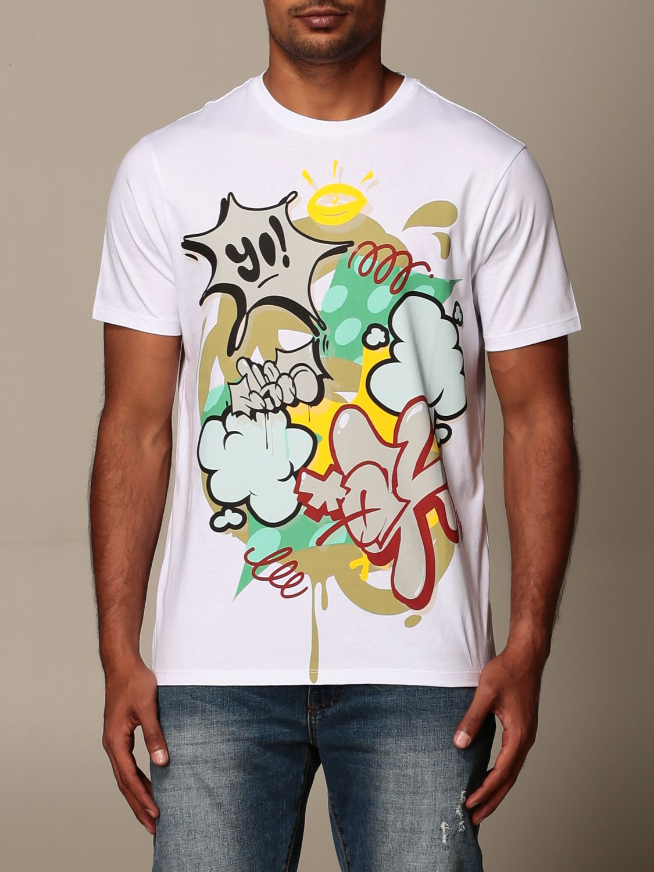 T-shirt Armani Exchange: T-shirt Armani Exchange in cotone con stampa bianco 1