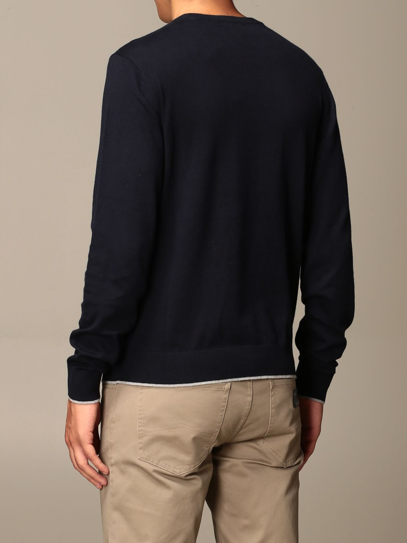 Sweater Armani Exchange: Cashmere blend wool crewneck navy 2
