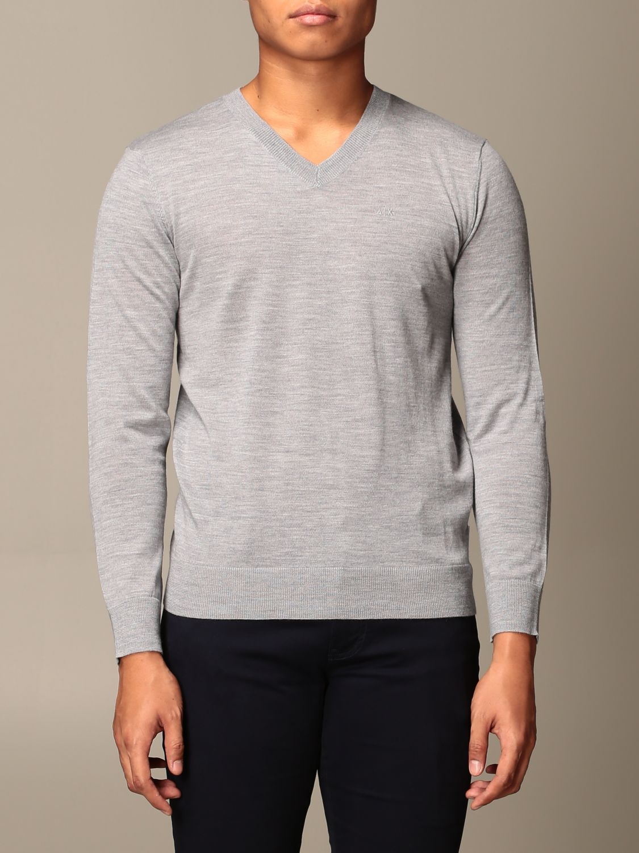 Sweater Armani Exchange: Sweater men Armani Exchange grey 1