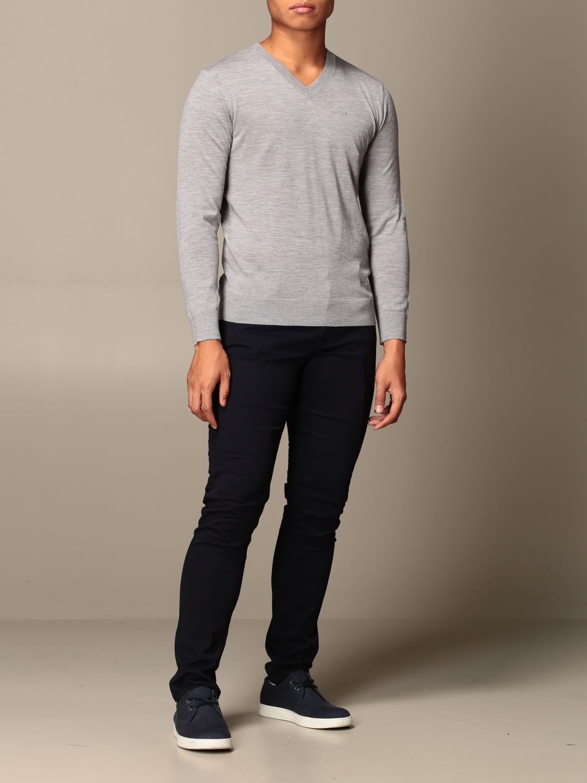 Sweater Armani Exchange: Sweater men Armani Exchange grey 2