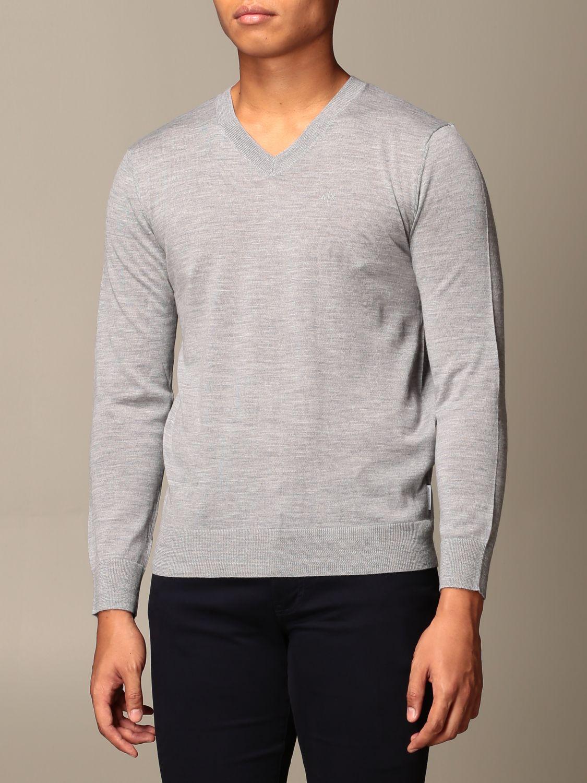 Sweater Armani Exchange: Sweater men Armani Exchange grey 4