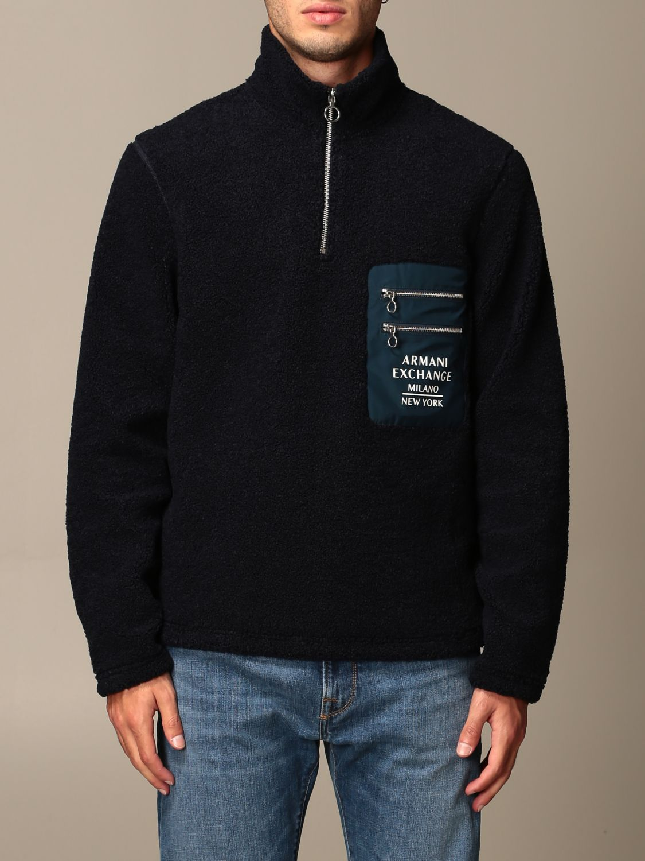 Pullover Armani Exchange: Pullover herren Armani Exchange blau 1