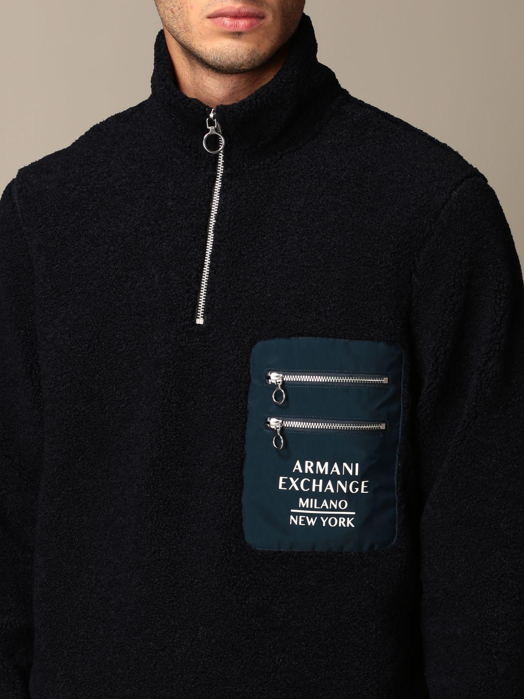 Pullover Armani Exchange: Pullover herren Armani Exchange blau 3