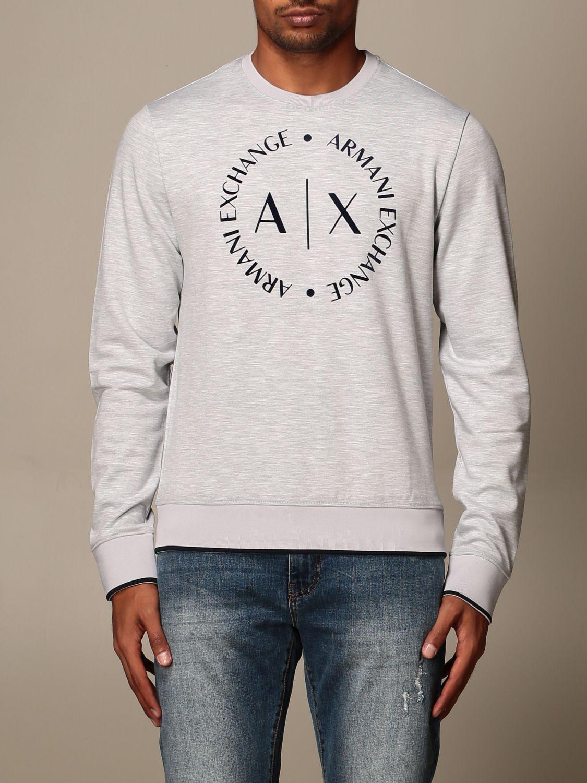 Sweatshirt Armani Exchange: Sweatshirt men Armani Exchange grey 1