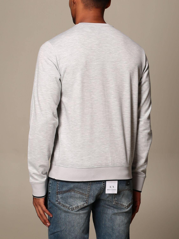 Sweatshirt Armani Exchange: Sweatshirt men Armani Exchange grey 2