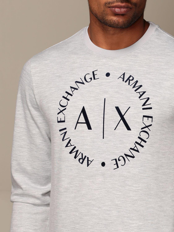 Sweatshirt Armani Exchange: Sweatshirt men Armani Exchange grey 3