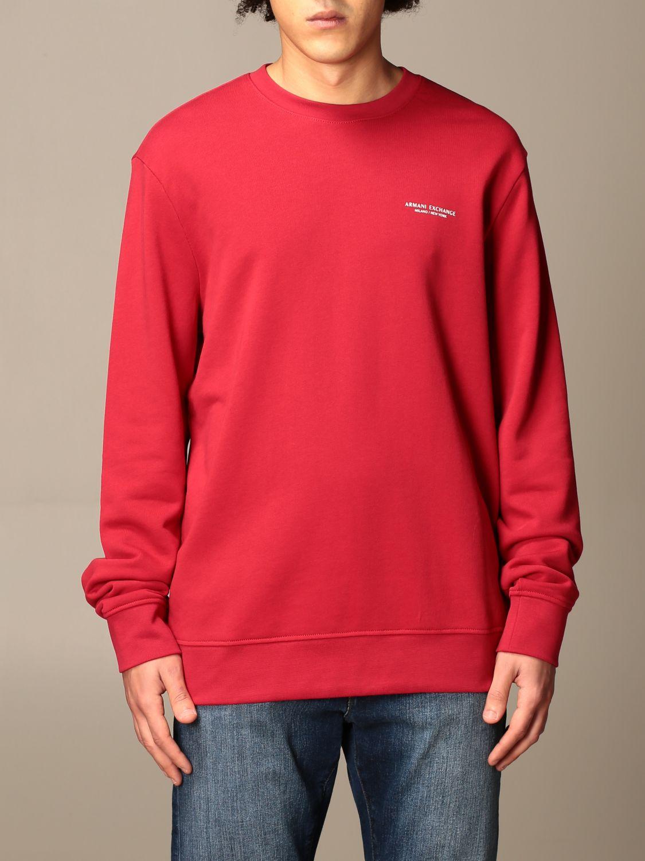 Sweatshirt Armani Exchange: Basic Armani Exchange sweatshirt red 1