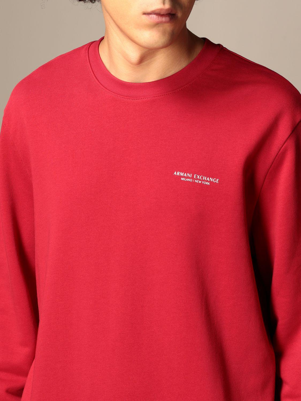 Sweatshirt Armani Exchange: Basic Armani Exchange sweatshirt red 4