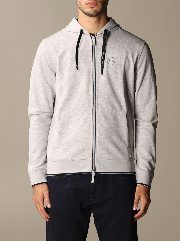 Sweatshirt Armani Exchange: Sweatshirt homme Armani Exchange gris 1