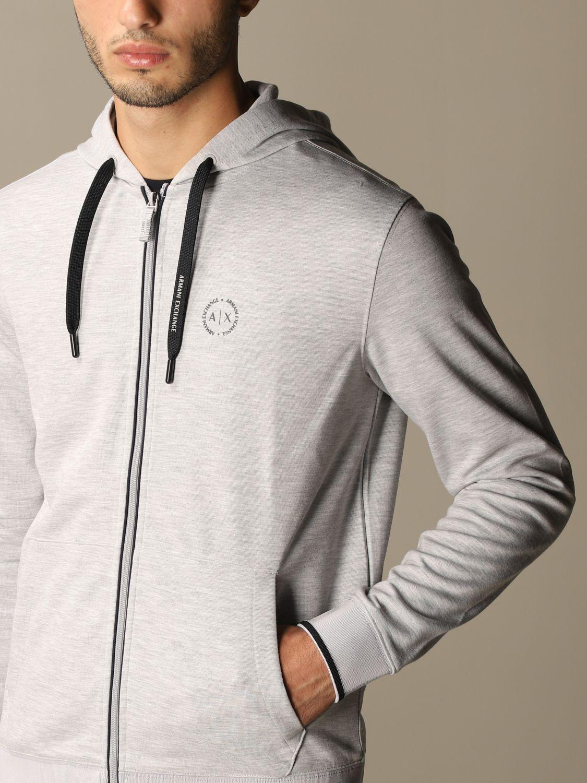 Sweatshirt Armani Exchange: Sweatshirt homme Armani Exchange gris 3