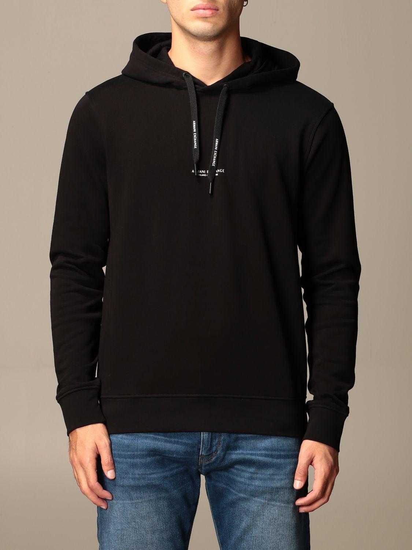 Sweatshirt Armani Exchange: Sweatshirt homme Armani Exchange noir 1