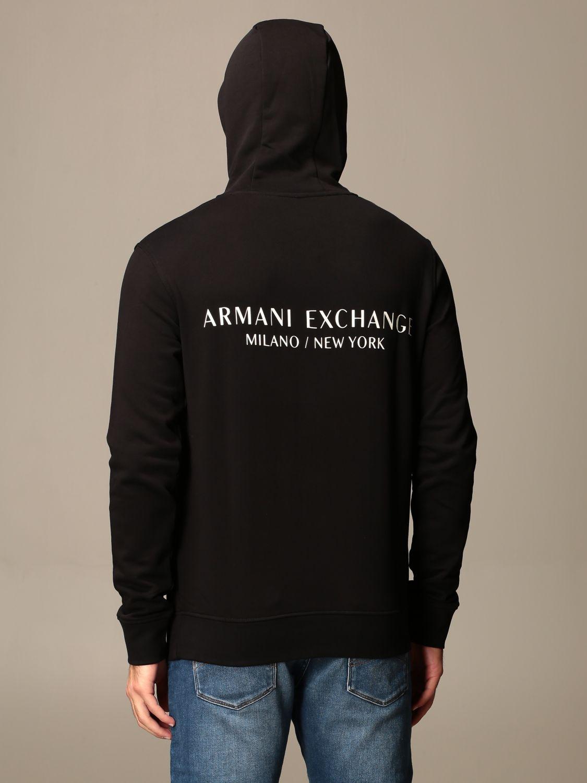 Sweatshirt Armani Exchange: Sweatshirt homme Armani Exchange noir 2