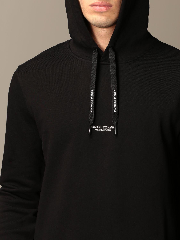 Sweatshirt Armani Exchange: Sweatshirt homme Armani Exchange noir 3