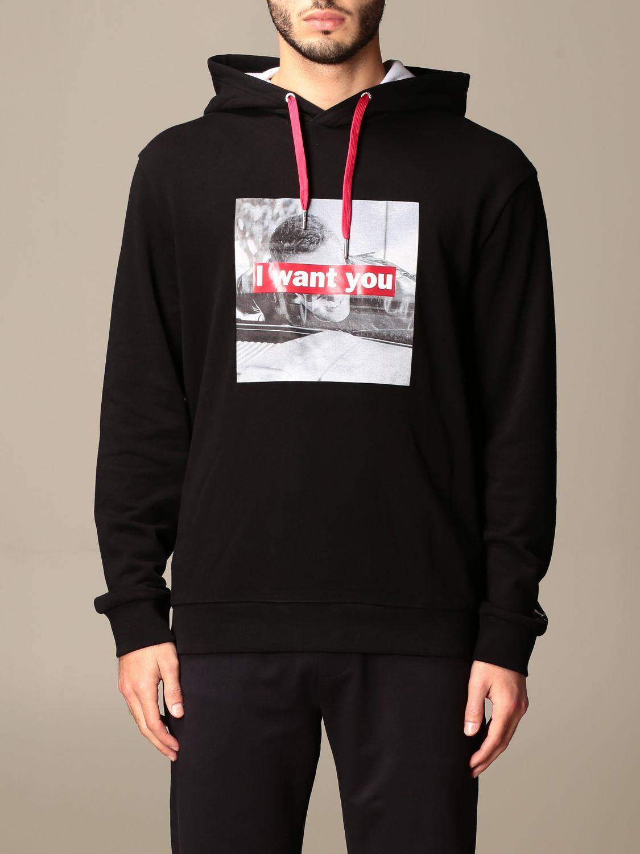 Sweatshirt Armani Exchange: Sweatshirt homme Armani Exchange noir 1 1