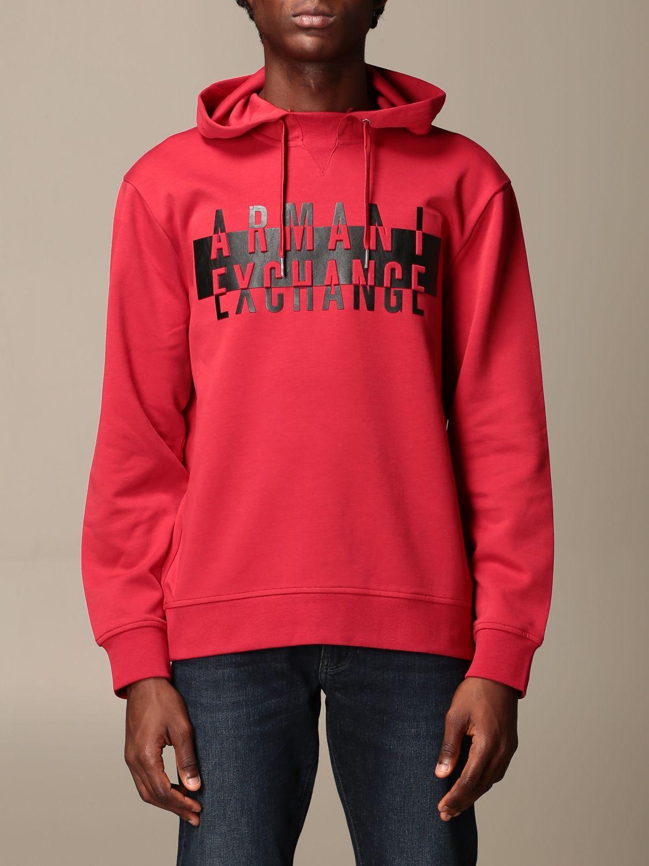 Sweatshirt Armani Exchange: Sweatshirt men Armani Exchange red 1