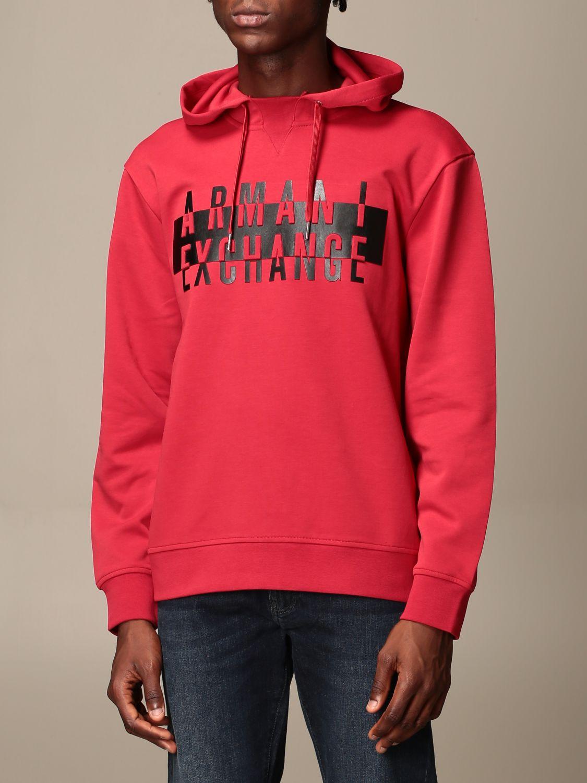 Sweatshirt Armani Exchange: Sweatshirt men Armani Exchange red 3