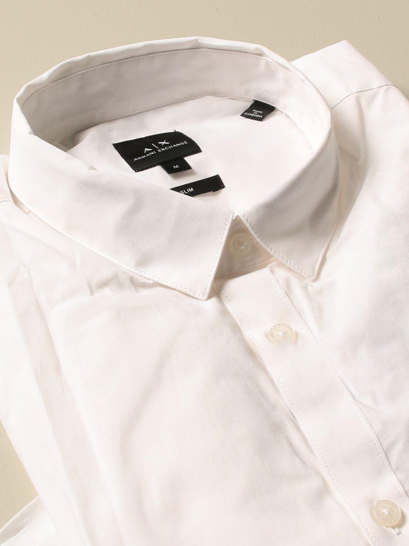 Рубашка Armani Exchange: Рубашка Мужское Armani Exchange белый 2