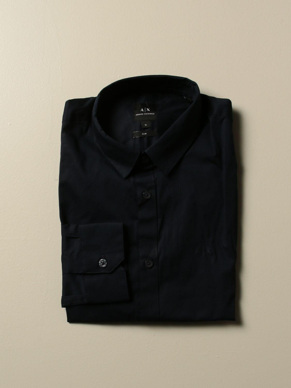 Shirt Armani Exchange: Shirt men Armani Exchange blue 1