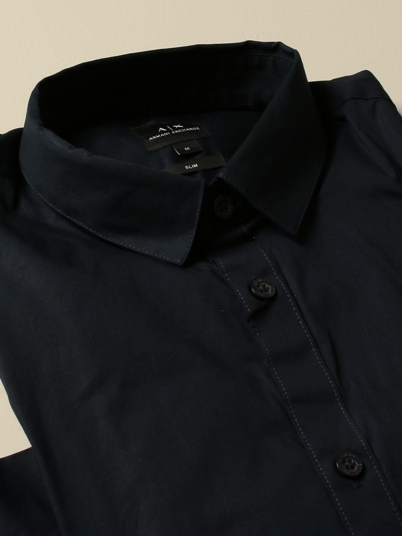 Shirt Armani Exchange: Shirt men Armani Exchange blue 2