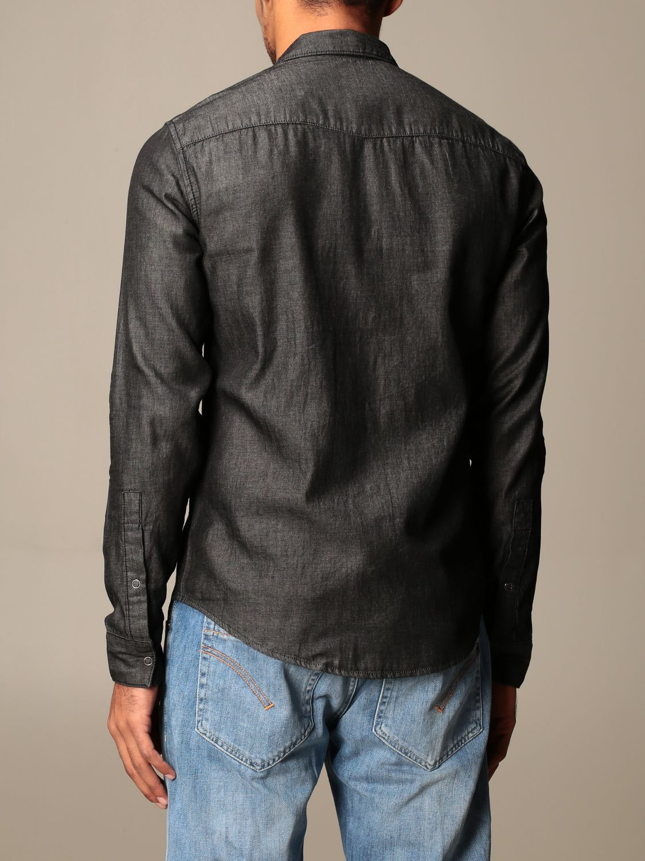Shirt Armani Exchange: Armani Exchange denim shirt with patch pockets black 2