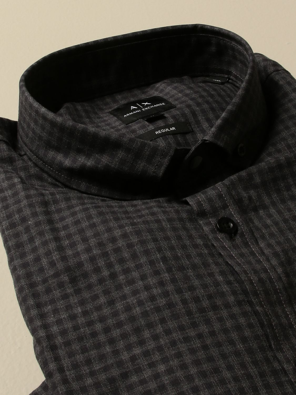 Shirt Armani Exchange: Shirt men Armani Exchange grey 2