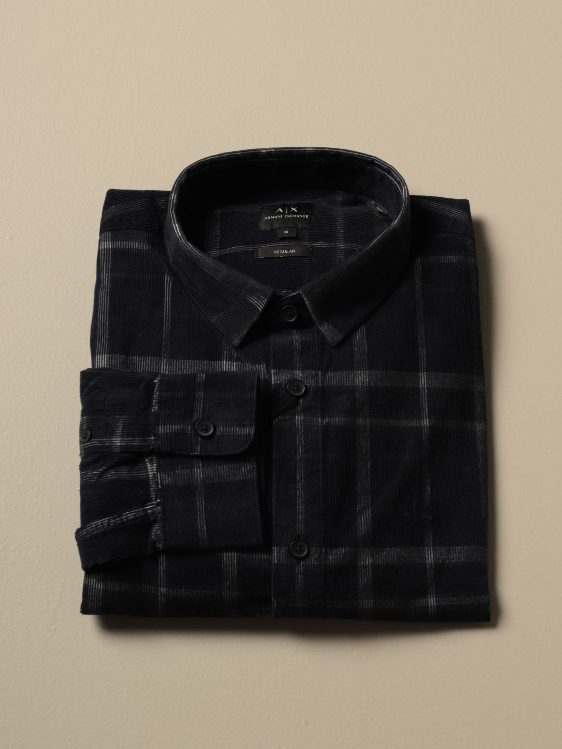 Shirt Armani Exchange: Shirt men Armani Exchange blue 1