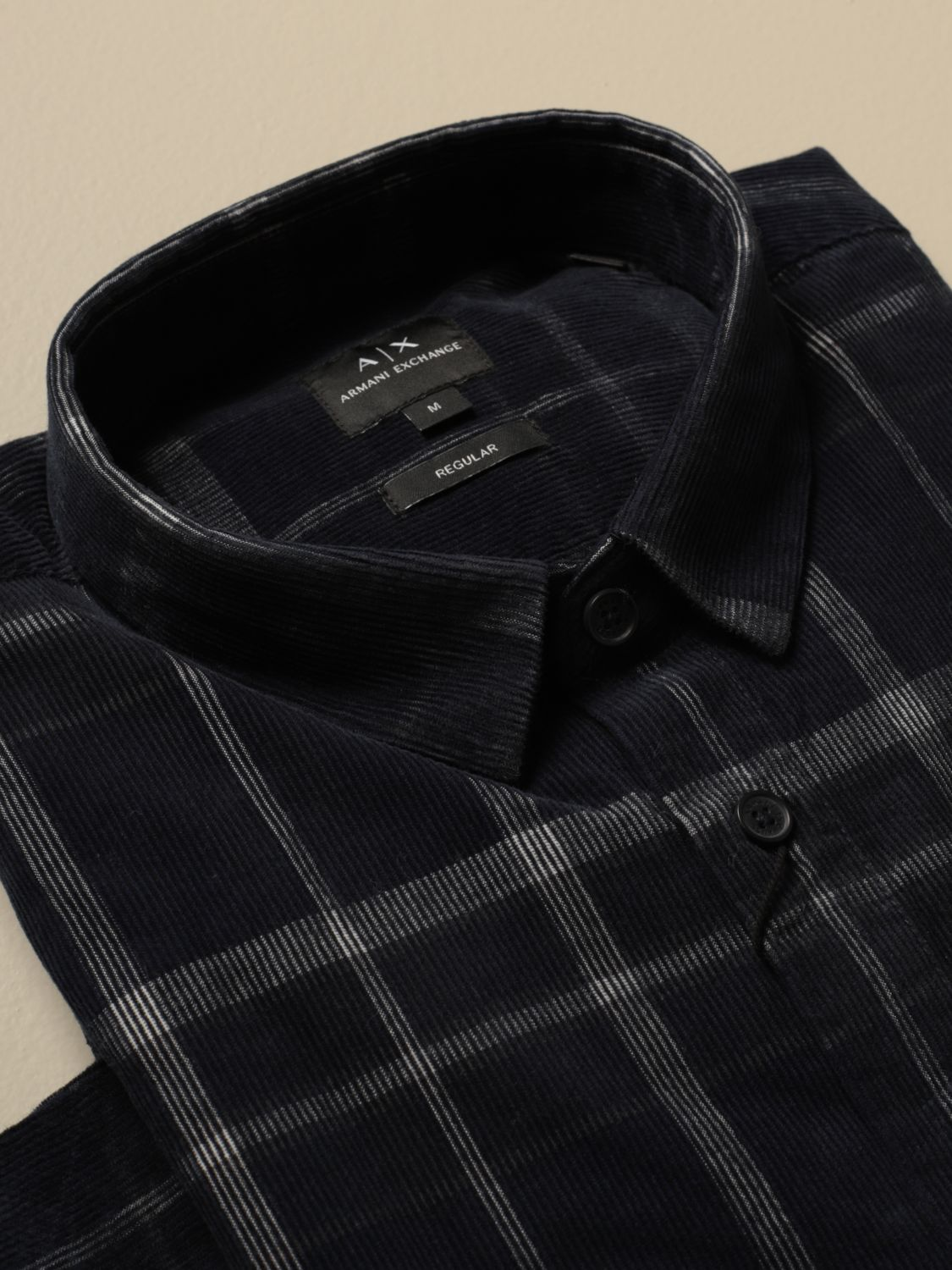 Shirt Armani Exchange: Shirt men Armani Exchange blue 2