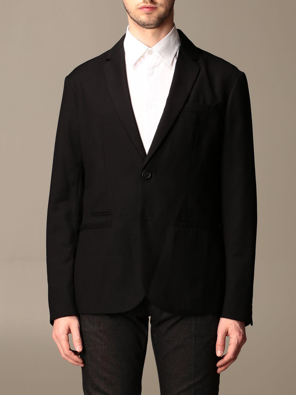 Blazer Armani Exchange: Blazer men Armani Exchange black 1